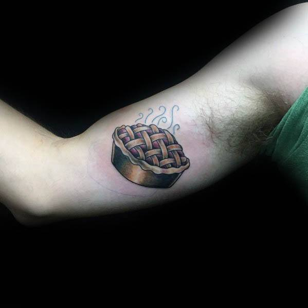 Excellent Guys Pie Tattoos