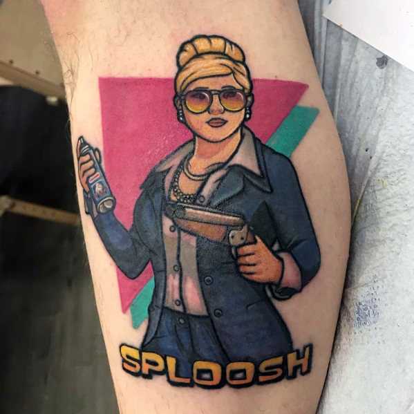 Excellent Guys Sploosh Archer Tattoos