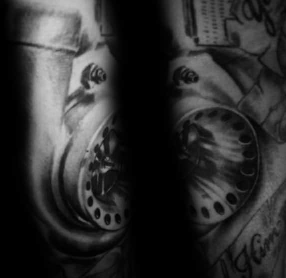 Excellent Guys Turbo Tattoos