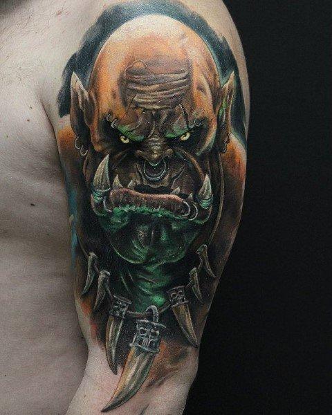 Excellent Guys World Of Warcraft Tattoos