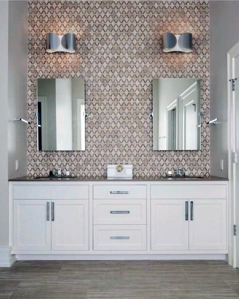 Excellent Interior Ideas Bathroom Vanity Painted White