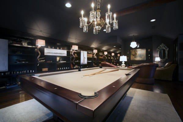 Excellent Interior Ideas Billiards Room
