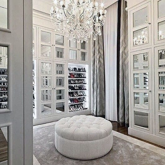 Excellent Interior Ideas Closet Lighting With Chandelier