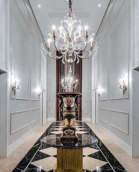 Excellent Interior Ideas Hallway Lighting Chandelier