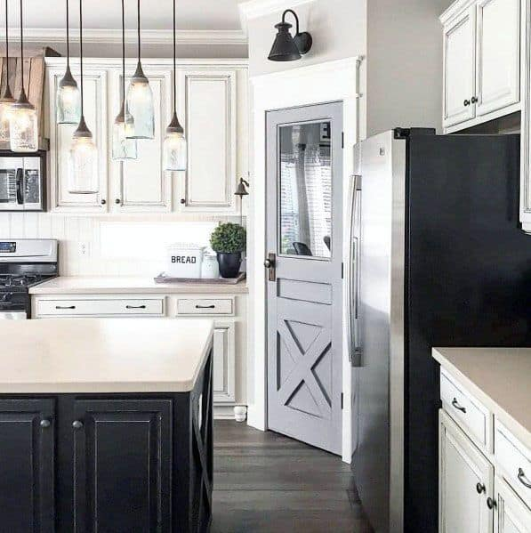 Excellent Interior Ideas Kitchen Pantry Door