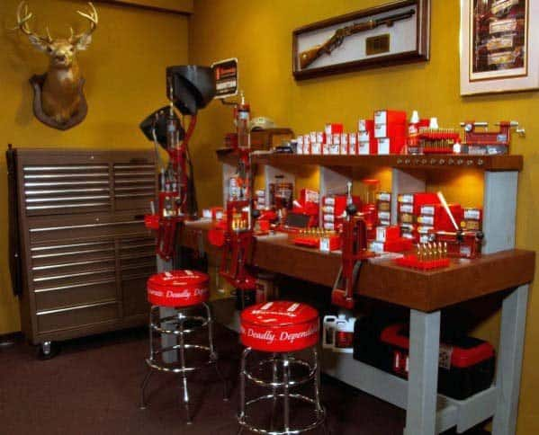 Excellent Interior Ideas Reloading Bench
