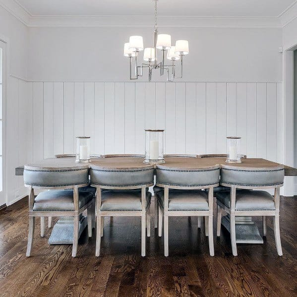 Excellent Interior Ideas Shiplap Wall Dining Room