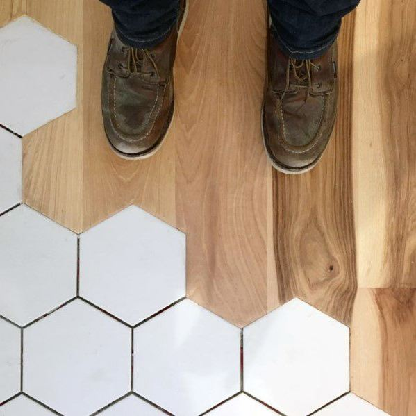 Excellent Interior Ideas Tile To Wood Floor Transition