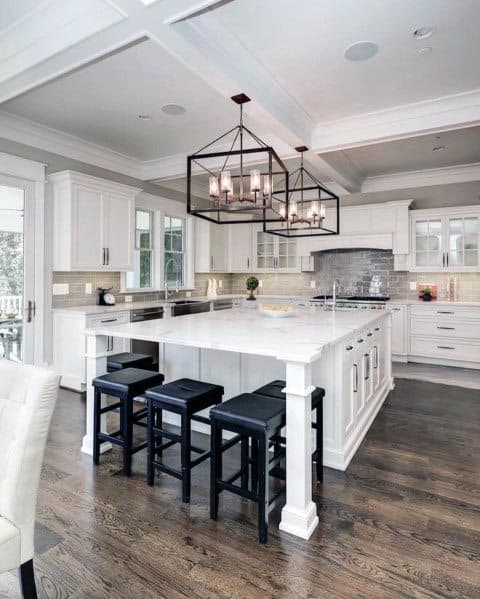 Excellent Interior Ideas White Kitchen