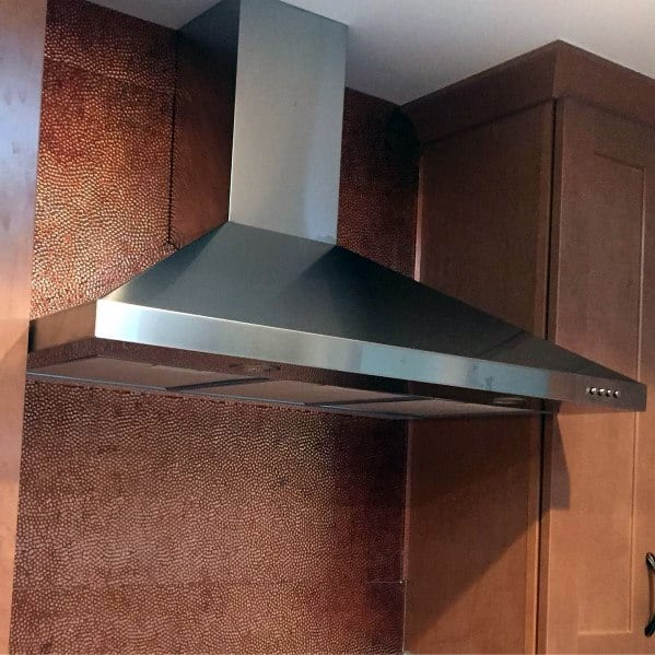 Excellent Kitchen Ideas Metal Backsplash