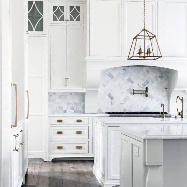 Ý tưởng nhà bếp tuyệt vời Đá ốp lát đá cẩm thạch
