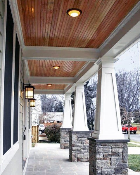 Excellent Outdoor Ideas Porch Ceiling Wood