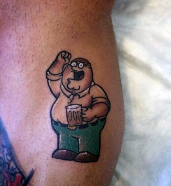 Excellent Peter Griffin Guys Family Guy Tattoos