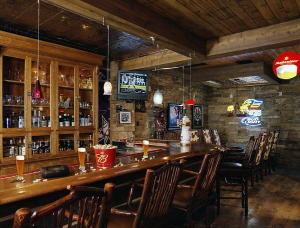Excellent Rustic Bar Ideas