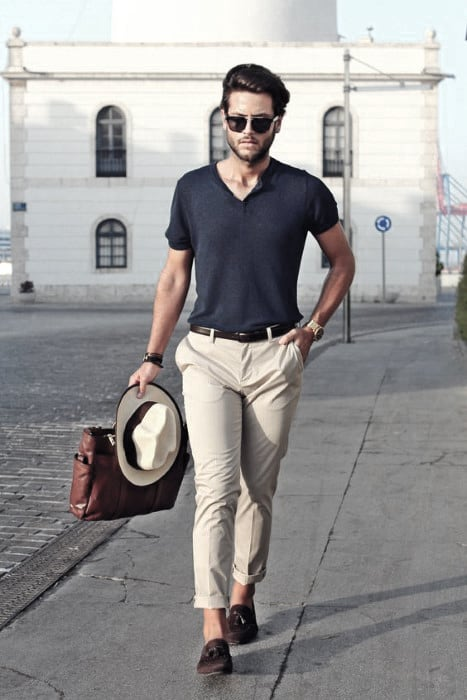 Excellent What To Wear With Khaki Pants Outfits Styles For Men