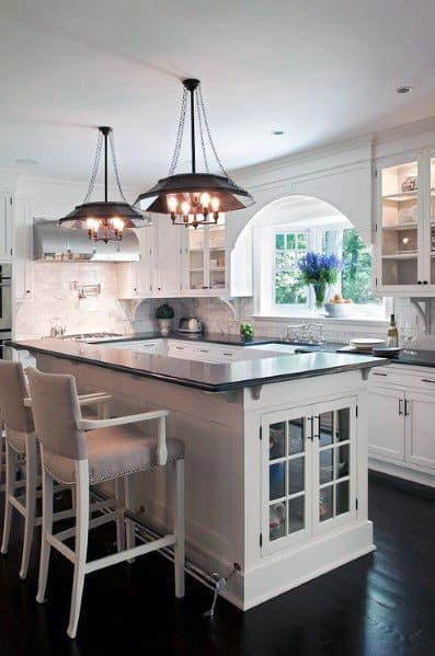 Exceptional Bar Foot Rail Ideas For Kitchen Island