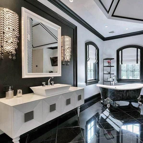 Exceptional Black Bathroom Ideas