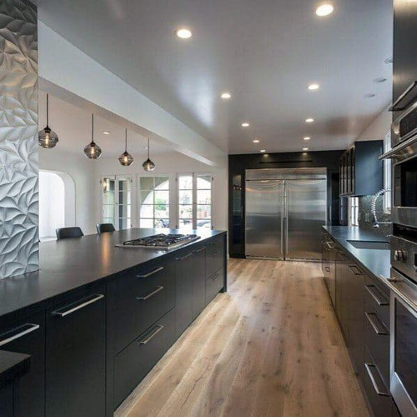 Exceptional Black Kitchen Cabinet Ideas
