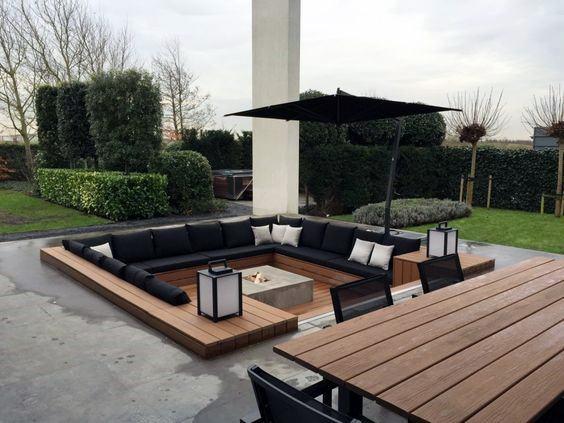 Exceptional Deck Fire Pit Ideas