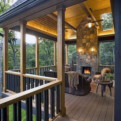 Top 40 Best Deck Roof Ideas Covered Backyard E Designs