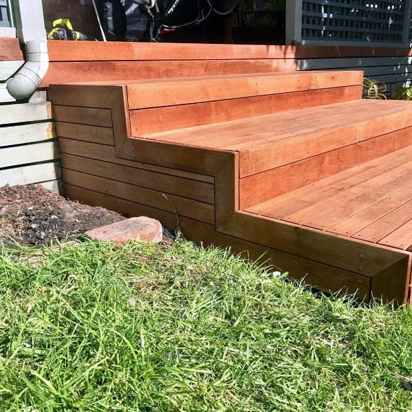 Exceptional Deck Steps Ideas Border Detail