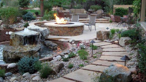 Top 50 Best Fire Pit Landscaping Ideas - Backyard Designs