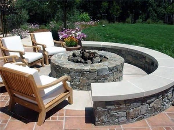Exceptional Fire Pit Seating Ideas