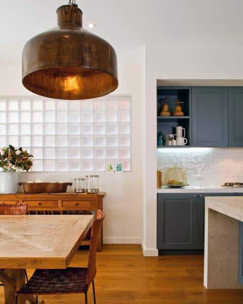 Exceptional Glass Block Ideas In Kitchen