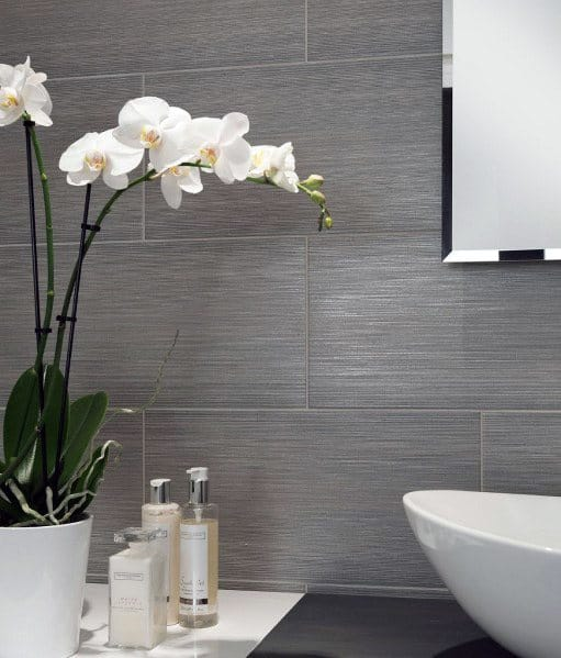 Exceptional Grey Bathroom Tile Ideas
