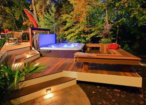 Exceptional Hot Tub Deck Ideas