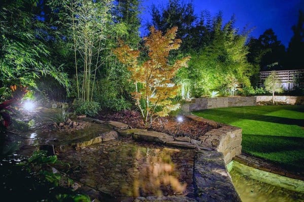 Exceptional Landscape Lighting Ideas Backyard
