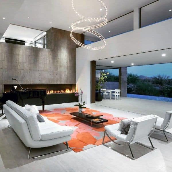 Exceptional Linear Fireplace Ideas