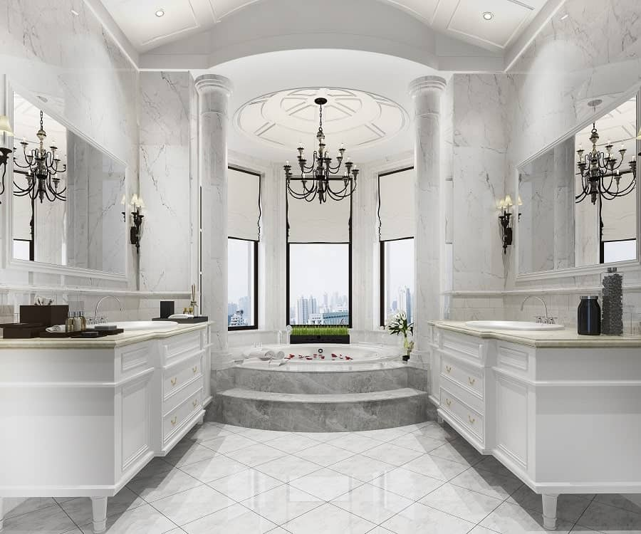 Exceptional Marble Bathroom Ideas