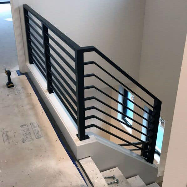 Exceptional Metal Continous Stair Railing Ideas