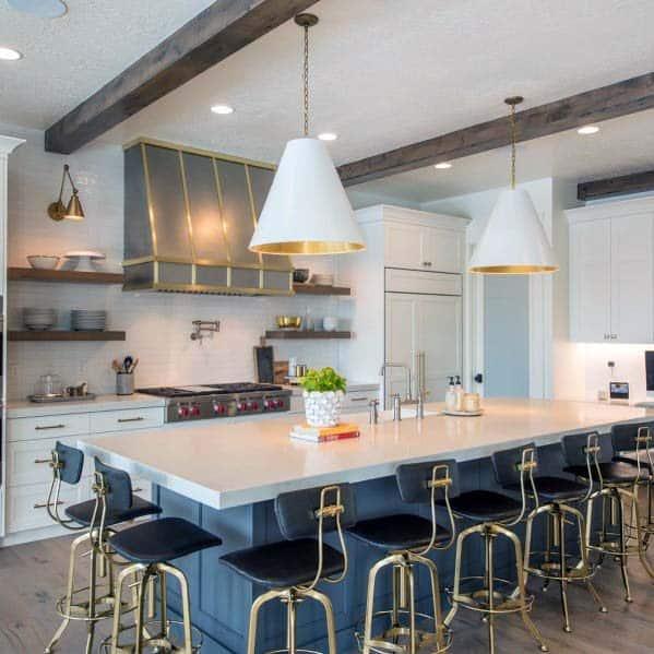 Exceptional Metal Vintage Kitchen Hood Ideas
