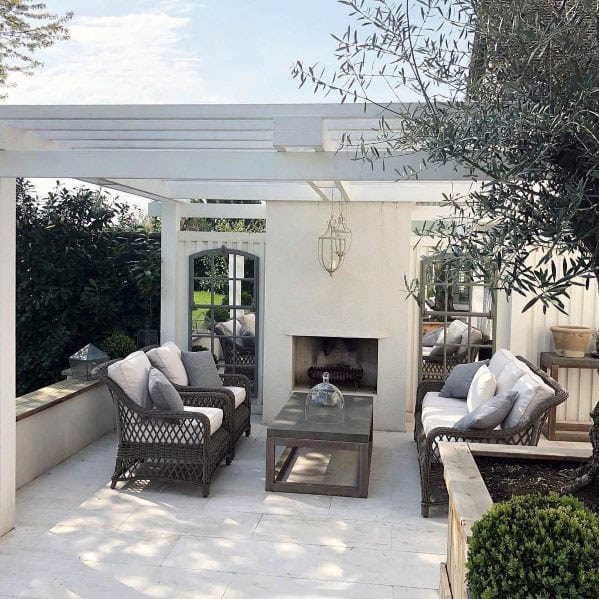Exceptional Patio Fireplace Ideas