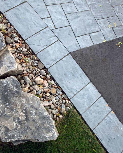Exceptional River Rock Landscaping Ideas For Driveways