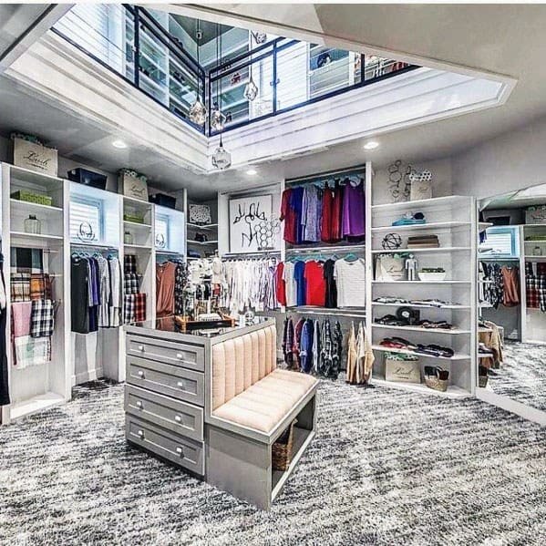 Exceptional Two Story Closet Lighting Ideas