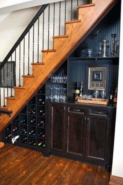 Exceptional Under Stairs Ideas Mini Bar