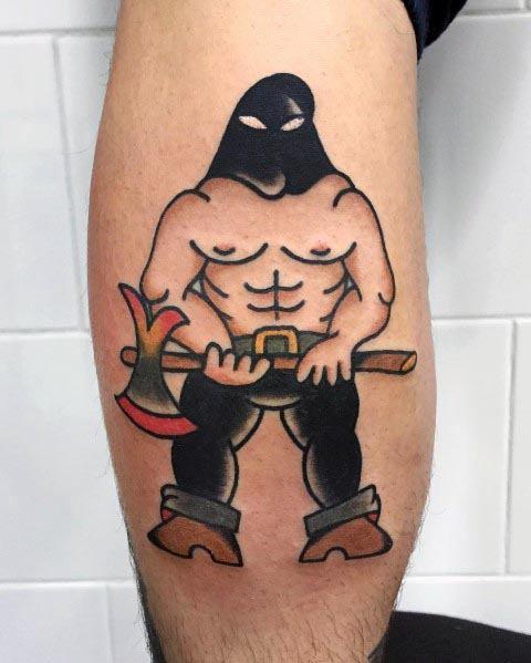 Executioner Tattoos For Men