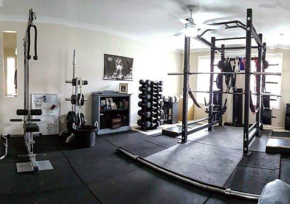 Exercise Equipment Ideas Garage Gyms