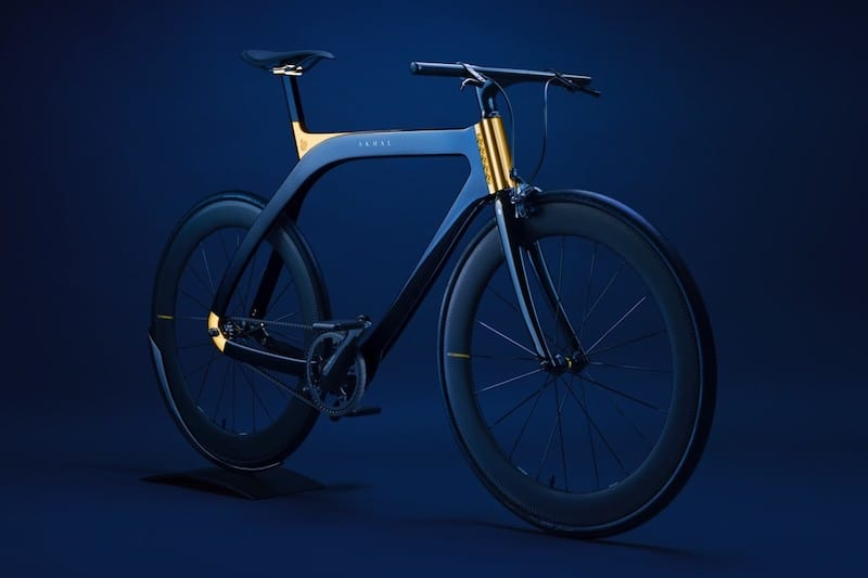 The Akhal Sheen Bike Features 24k Gold Plating