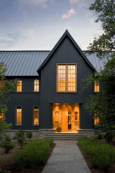 Exterior Designs House Paint Black