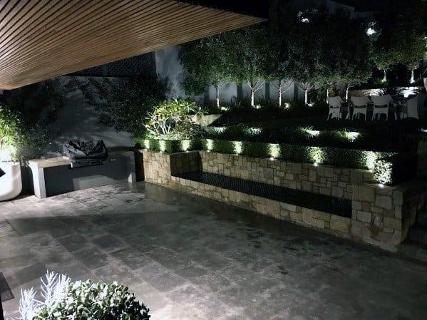 Exterior Designs Landscape Lightings Patio