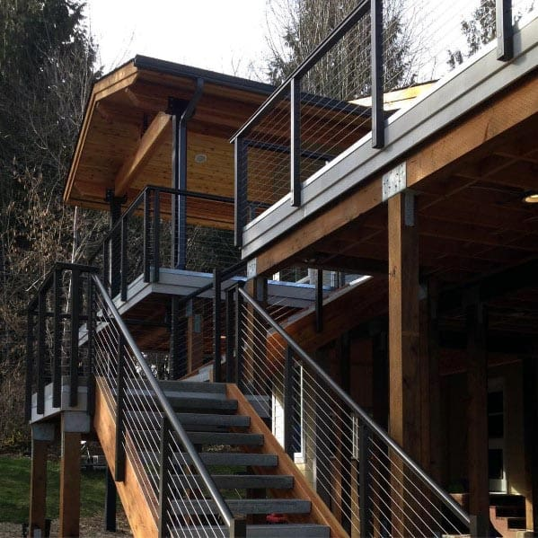 Exterior Ideas Deck Railing