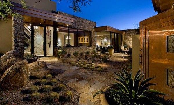Exterior Ideas Desert Landscaping
