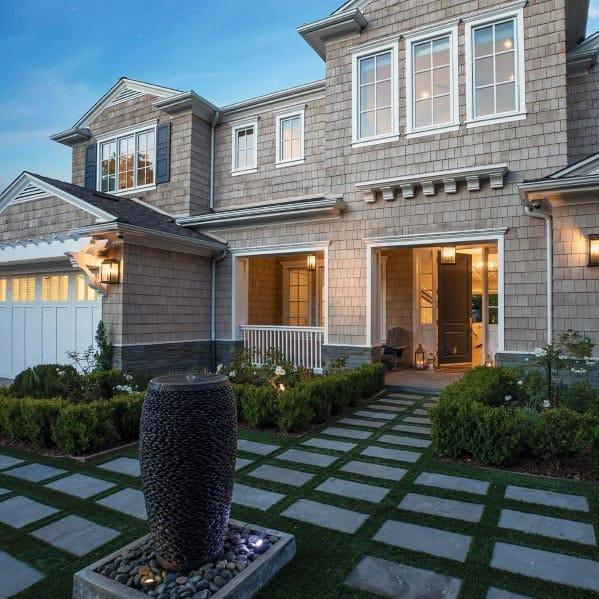 Top 70 Best Front Yard Landscaping Ideas - Outdoor Designs on Outdoor Front Yard Ideas id=71318