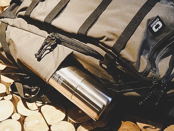 Exterior Water Bottle Side Pocket Olive Ogio Alpha Convoy 525 Backpack Review