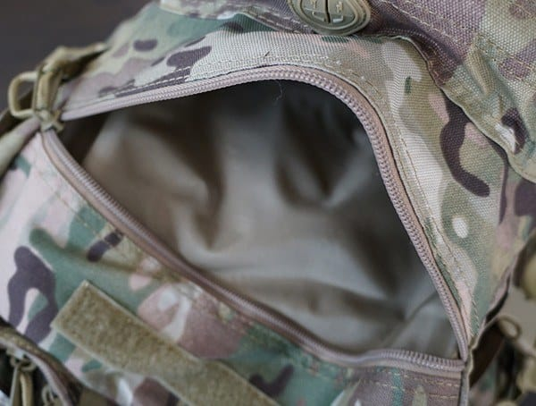 Exterior Zippered Pocket Mercury Tactical Recon Backpacks