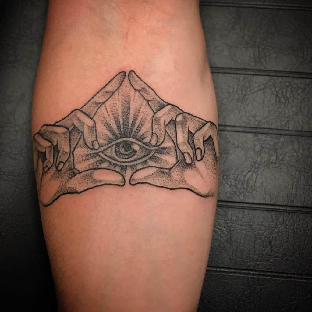 Eye Of Horus Third Eye Tattoo